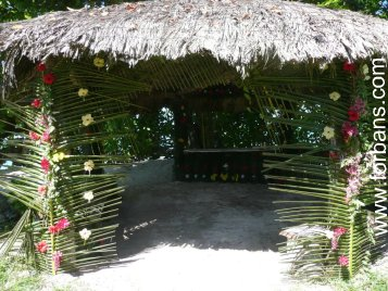 Seychelles Wedding Venue- Beach Gazebo